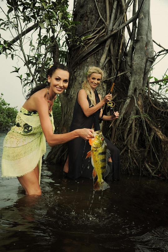V Amazonii byla s Ivanou Jirešovou.
