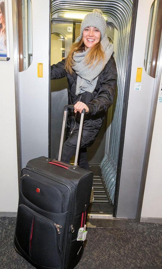 Andrea a její ztracený a posléze nalezený kufr