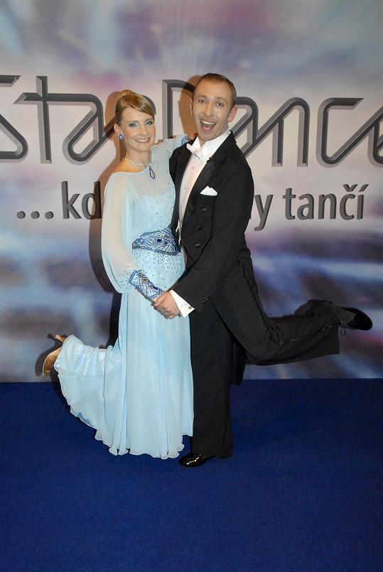 Štěpánka Hilgertová a Michal Němeček