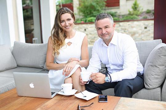 Nový ročník připravují Eva Čerešňáková se svým partnerem Martinem Ditmarem.