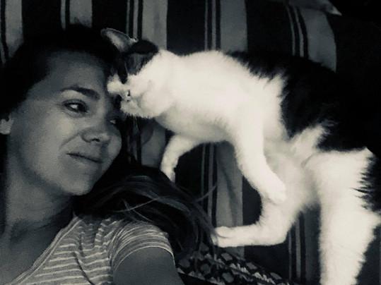 Domů si pořídila kočky z útulku.