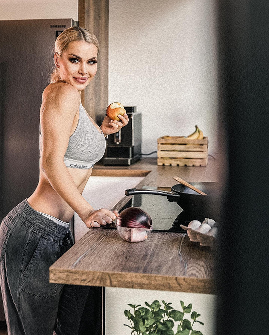 Martina Marková ráda tráví čas v kuchyni.