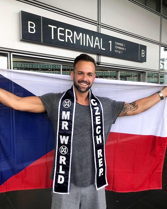 Jakub Kraus vyrazil na Filipíny na soutěž Mr. World.