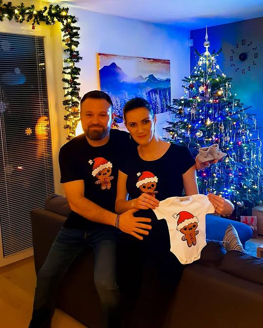 Veronika se s novinkou pochlubila v prosinci.