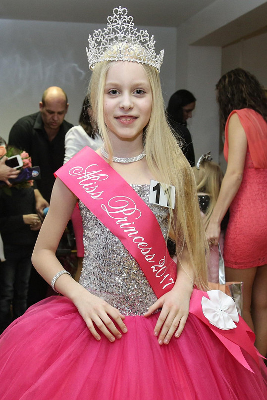 V kategorii 8-12 let uspěla Daria Molosag.