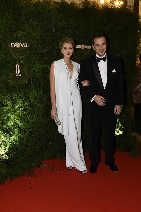 Zora Hejdová s manželem
