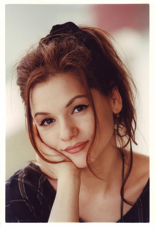 Magda Malá v roce 1995