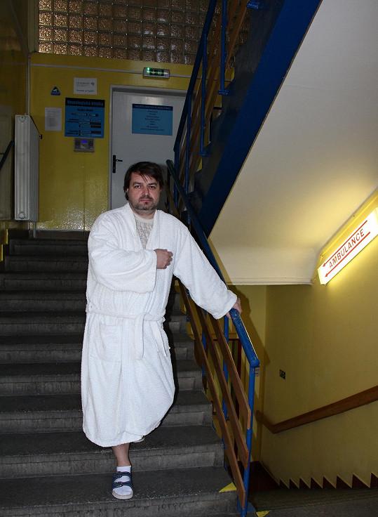 Zdeněk Macura letos utrpěl mrtvici.