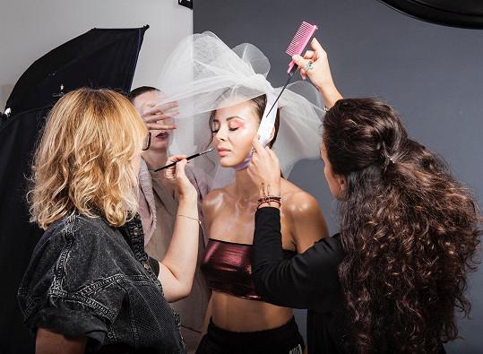Bude tváří kosmetického veletrhu a make-up institutu.