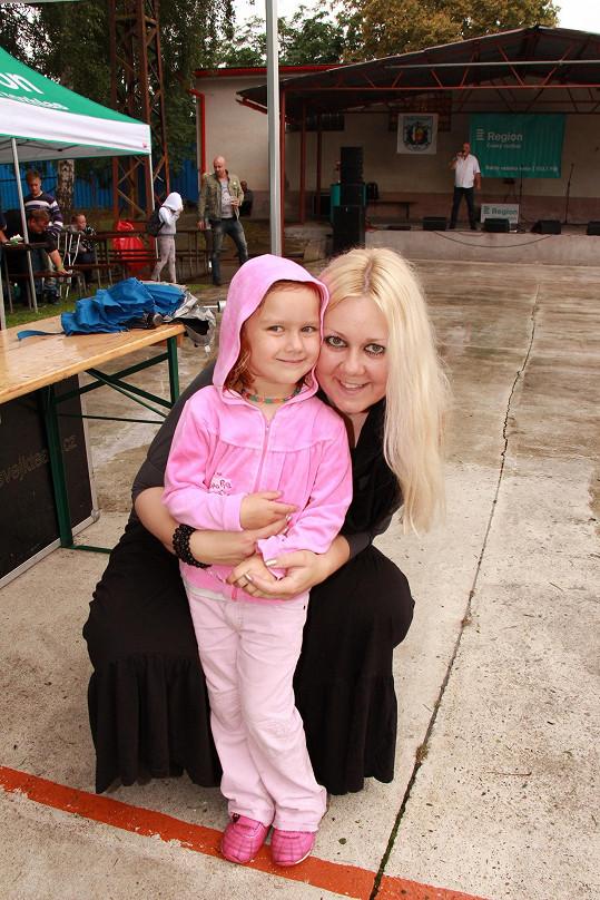 Klára s dcerou Valerií