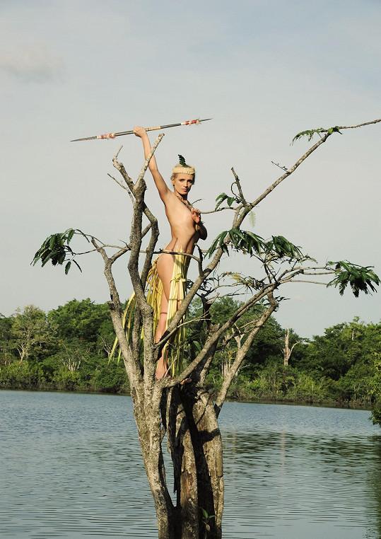 Celá expedice v Amazonii byla velmi náročná.