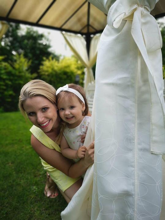 S dcerou Emilkou.