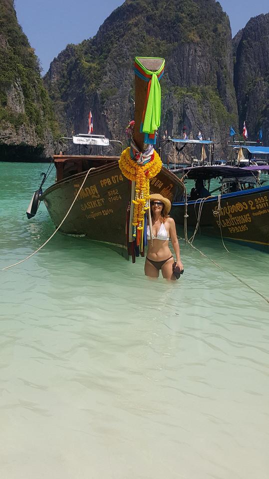 Objížděla ostrovy Andamanského moře.