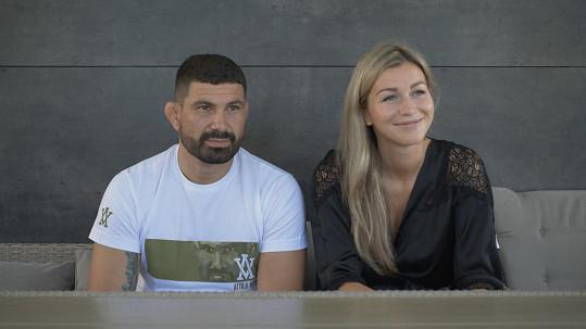 Attila Végh s manželkou Natálií