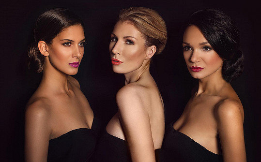 Na place se Gábina setkala ještě s dalšími českými tvářemi zastupujícími luxusní milánskou kosmetiku - s Miss České republiky 2009 Anetou Vignerovou a modelka Barborou Navrátilovou.