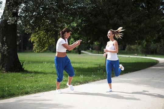 Markéta hodlá své výsledky průběžně zveřejňovat a do budoucna by chtěla natočit i několik videí z tréninků.