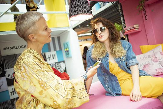 Klára Vytisková si do Ostravy přivezla šaty z kolekce Ladies Trend.
