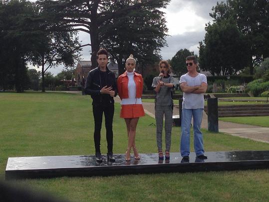 Mladý zpěvák ve Velké Británii