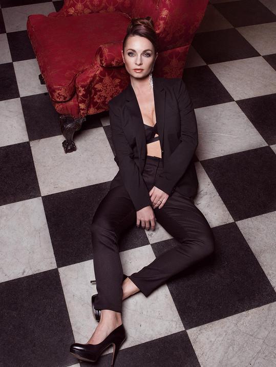 Markéta Plecháčová na nových fotkách vypadá velmi sexy.