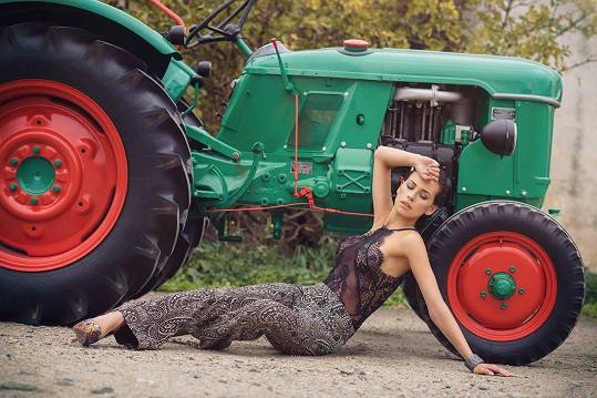 Kateřina Votavová v kalendáři pro letošní rok.