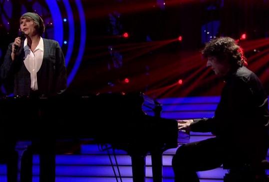 Doprovázel ho dvorní klavírista Hegerové Petr Malásek.