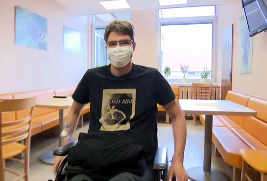 Michal Jančařík poctivě rehabilituje.