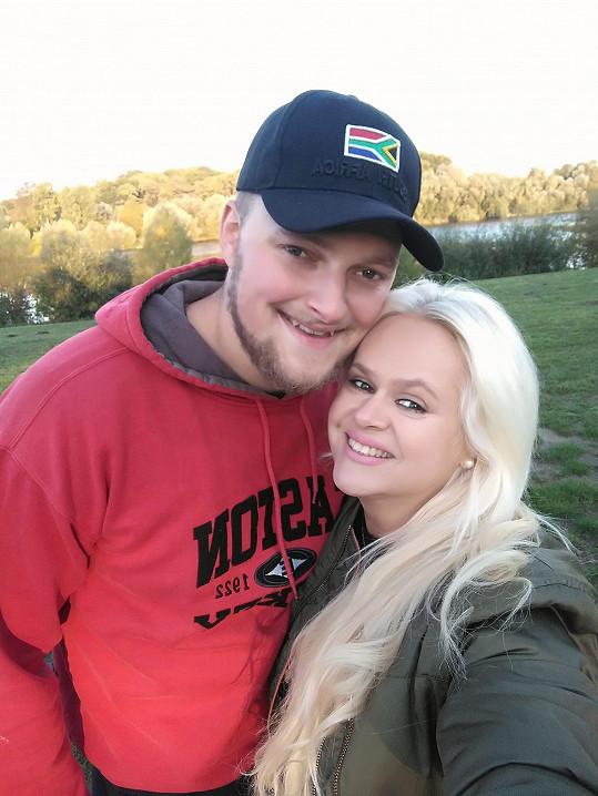Monika s manželem Petrem Biniasem