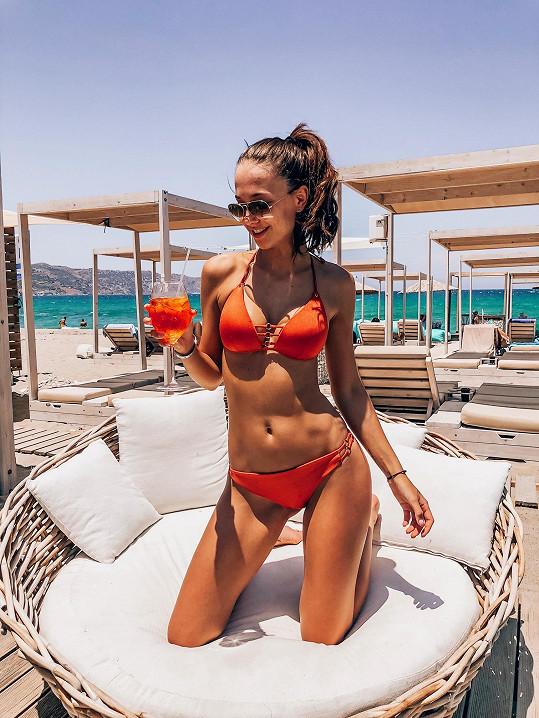 Lea vyrazila na Krétu na soustředění České Miss