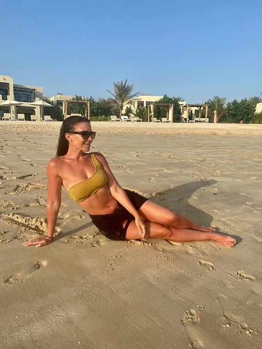 V Emirátech nachytala bronz a nasbírala zážitky.