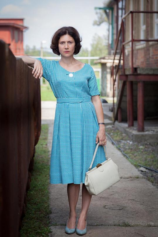Martha Issová ve filmu Dukla 61