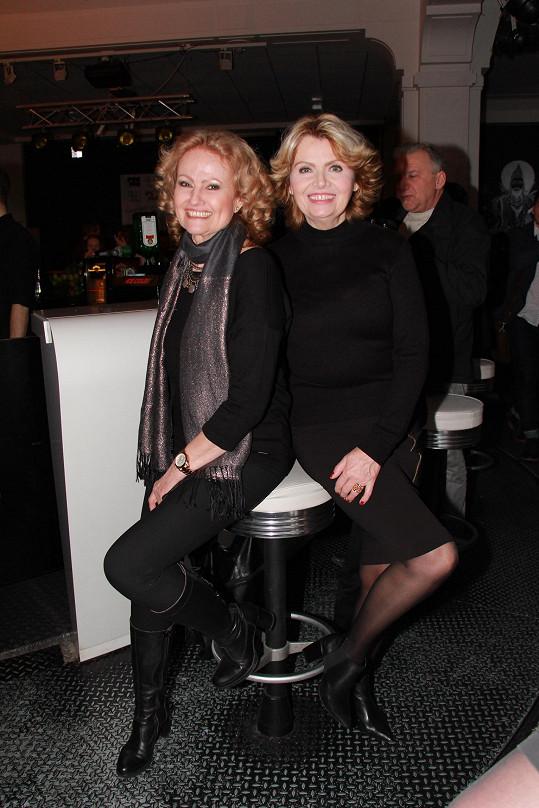 Dana Vlková a Hana Buštíková tvoří duo Kamelie.