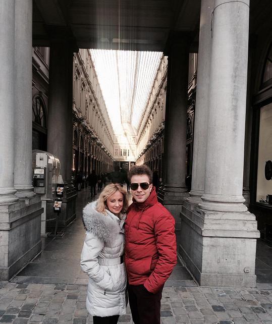 Návštěvu Bruselu si oba užili. Přiletěli dříve, aby si stihli důkladně projít město.