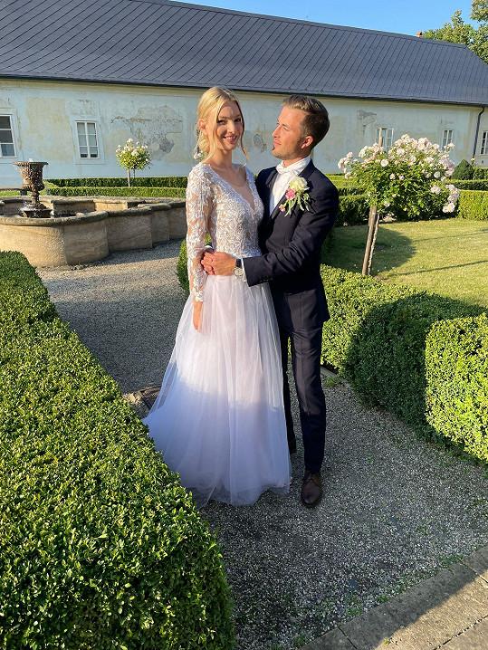 Tereza Křivánková se vdala.