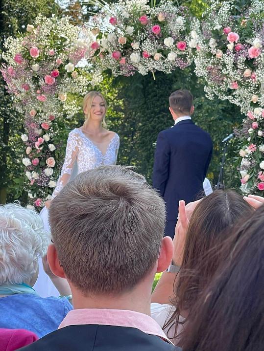 Tereza přijala manželovo příjmení.