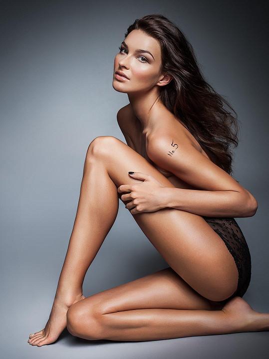 Nikol Švantnerová není v modelingu nováčkem.