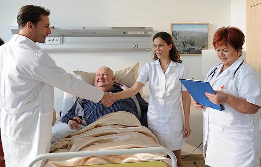 Poslední svou roli zahrál na nemocničním lůžku.