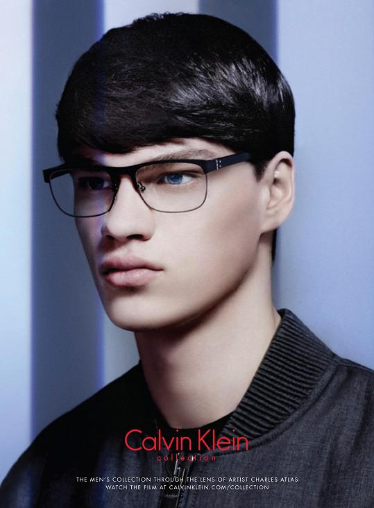V kampani značky Calvin Klein