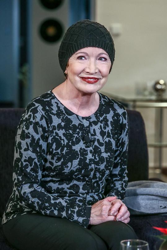 Hana otevřeně promluvila o svém boji s rakovinou prsu.