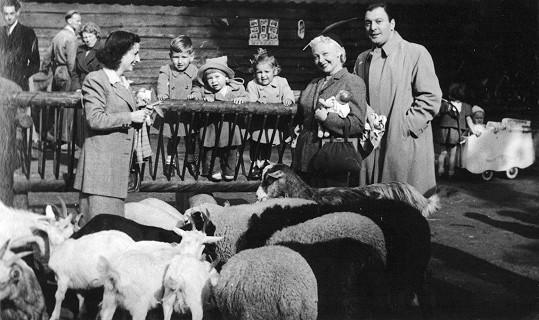 Truda v Nizozemí s manželem Hansem a dcerou Evelyn