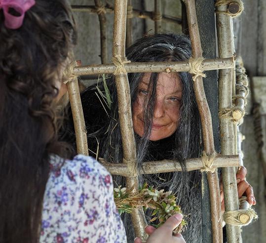 Zajímavou roli dostala Vilma Cibulková.