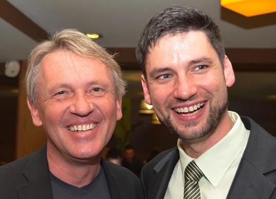 S kolegou Zbygnievem Czendlikem mají řadu společných témat k hovoru.