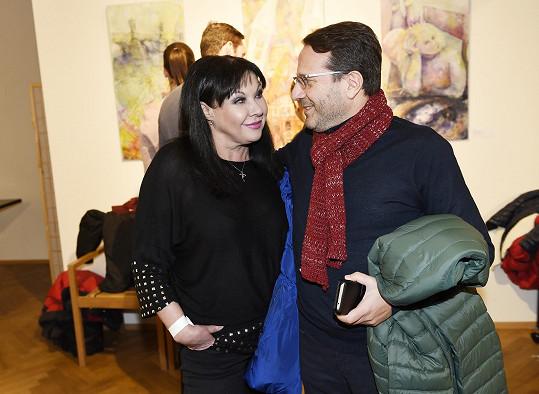 Dagmar Patrasová s italským přítelem