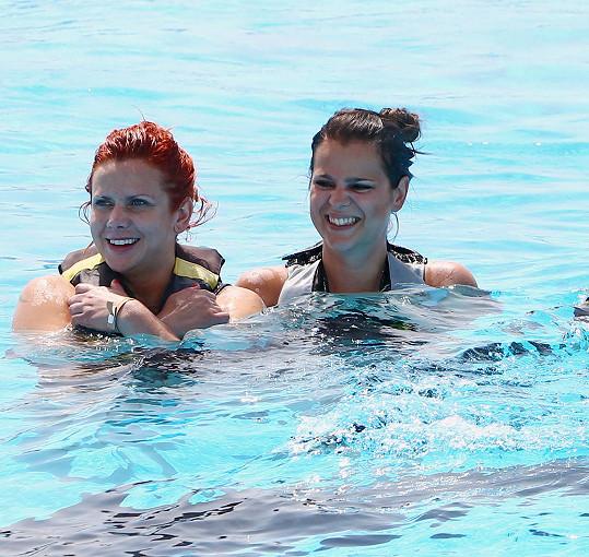 Ornella se Štěpánkou se spřátelily na dovolené v Tunisku.
