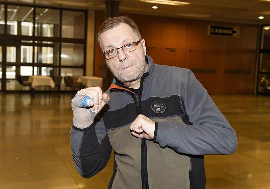 Milan Šteindler bude hrát v Rockym trenéra.
