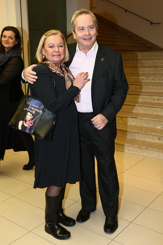 Alexander Hemala s manželkou