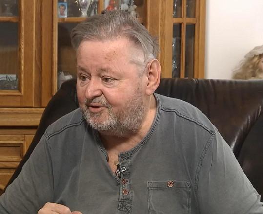 Jan Kuželka se o své nemoci rozpovídal v pořadu 13. komnata.