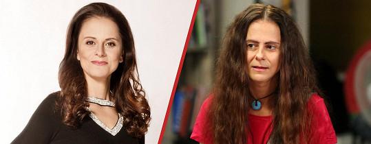 Laďka Něrgešová se proměnila v ošklivku.