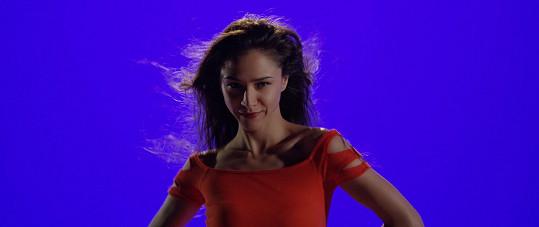 Eva Burešová v klipu