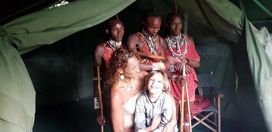 Syn David byl v Africe mnohokrát.
