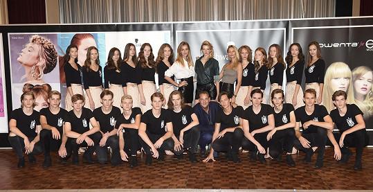 Kompletní sestava letošních finalistů soutěže Schwarzkopf Elite Model Look 2019